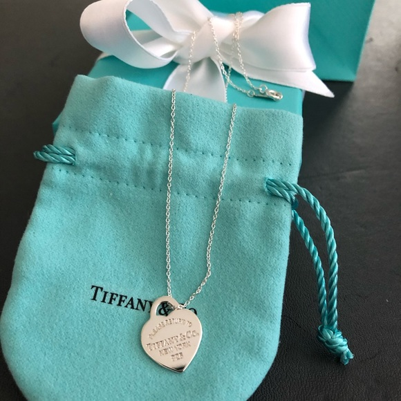 Tiffany & Co. Jewelry - Tiffany & Co authentic small 18 inch pendant